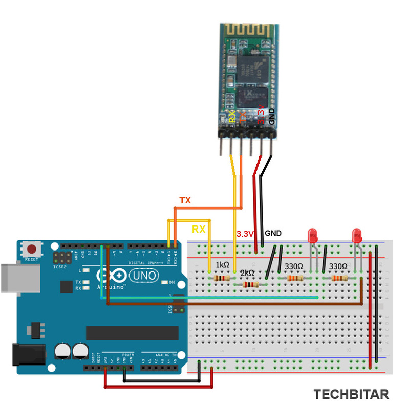ArduDroid: Simple Bluetooth control for Arduino and Android - TechBitar