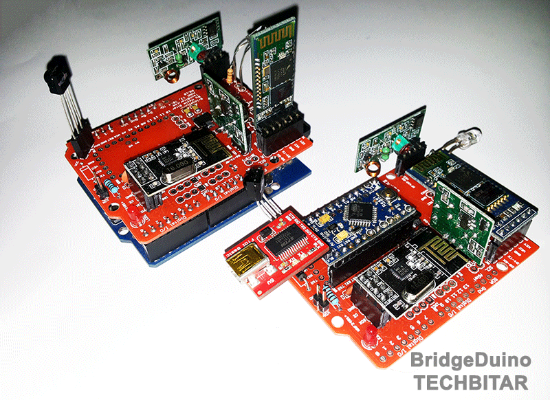Bridgeduino the swiss army knife of inexpensive wireless